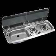 Варочная панель газовая с раковиной Dometic HSG 2370L (2 конф)