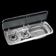 Варочная панель газовая с раковиной Dometic HSG 2370R (2 конф)